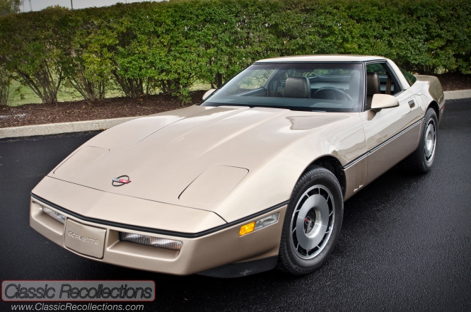 This 1984 Chevrolet Corvette was picked up on Halloween Day.