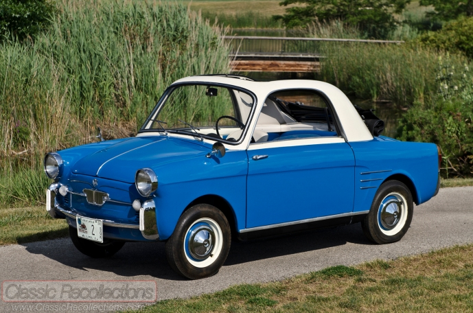 This 1961 Autobianchi Bianchina Transformable was restored using parts from all over the world.