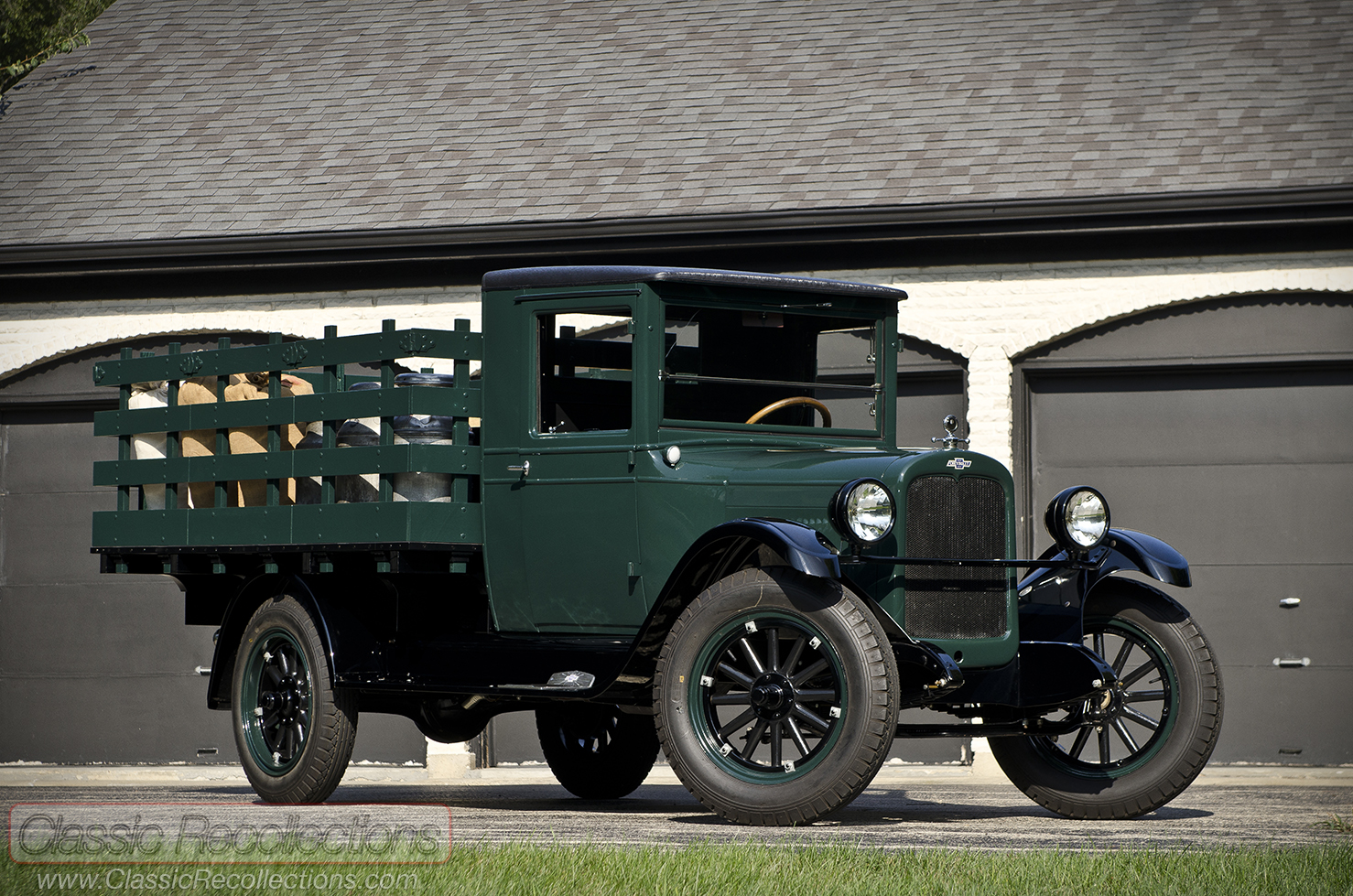 This 1927 chevroelt capitol has been restored to factory specifications