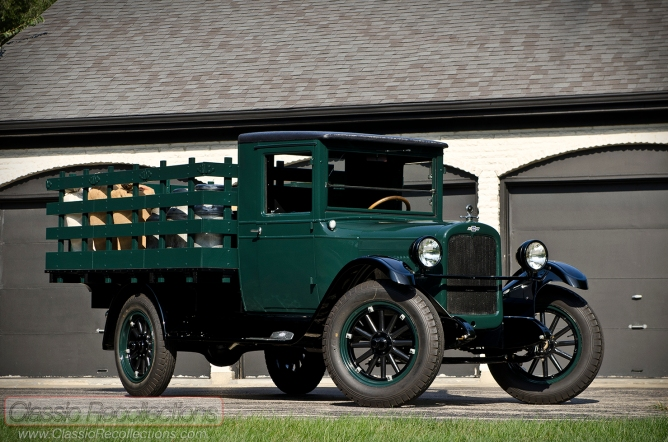 This 1927 Chevroelt Capitol has been restored to factory specifications.