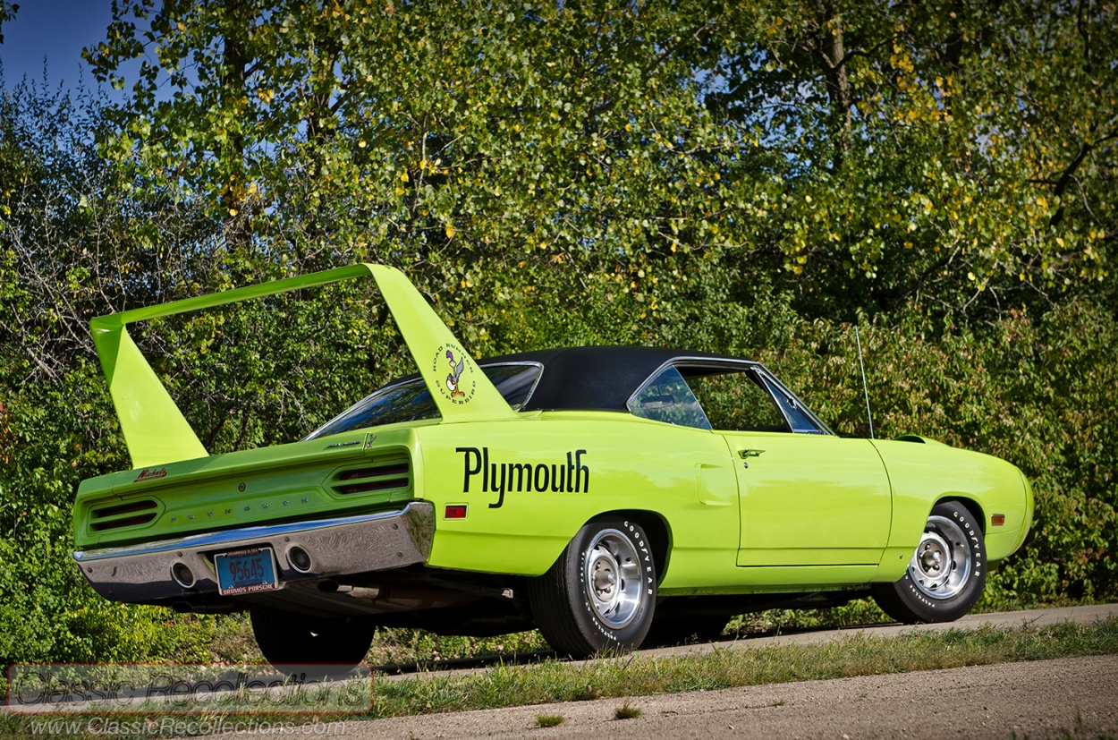 This 1970 Plymouth Superbird is original and was purchased from a 19-year old who bought it new.