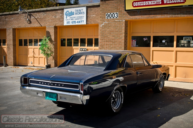 This 1967 Pontiac Beaumont was based on the Chevrolet Chevelle and only available in Canada