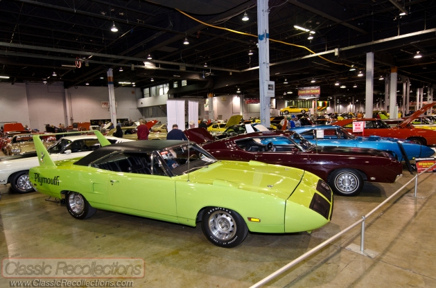 Doug displayed his 1970 Plymouth Superbird at the 2012 Muscle Car and Corvette Nationals in Rosemont, Illinois.
