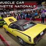 The 2012 Muscle Car and Corvette Nationals show in Rosemont, Illinois had all kinds of classic muscle cars and classic vehicles on display.