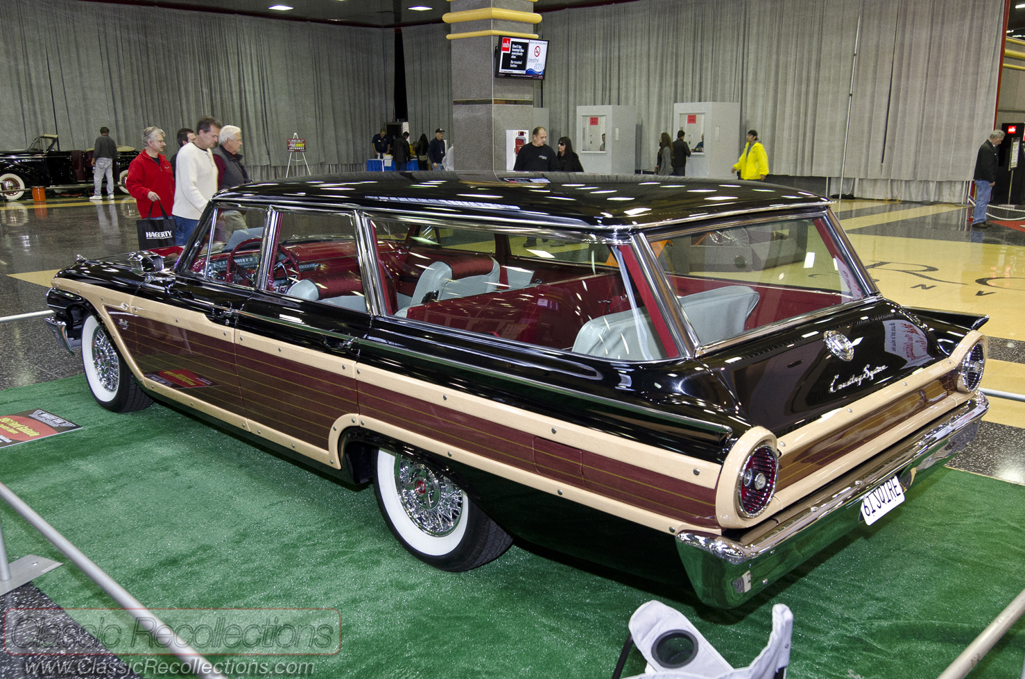 Mcacn 1961 Ford Country Squire Station Wagon Classic Recollections