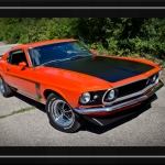 Halloween Muscle Cars