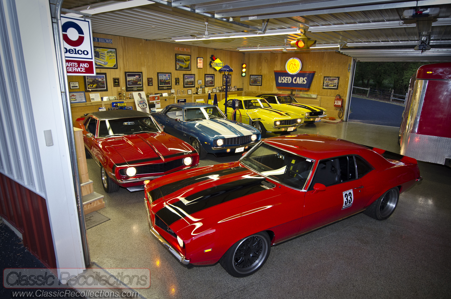 dream garages 1969 chevrolet camaro collection classic