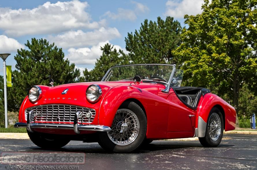 Restored 1960 Triumph TR3A