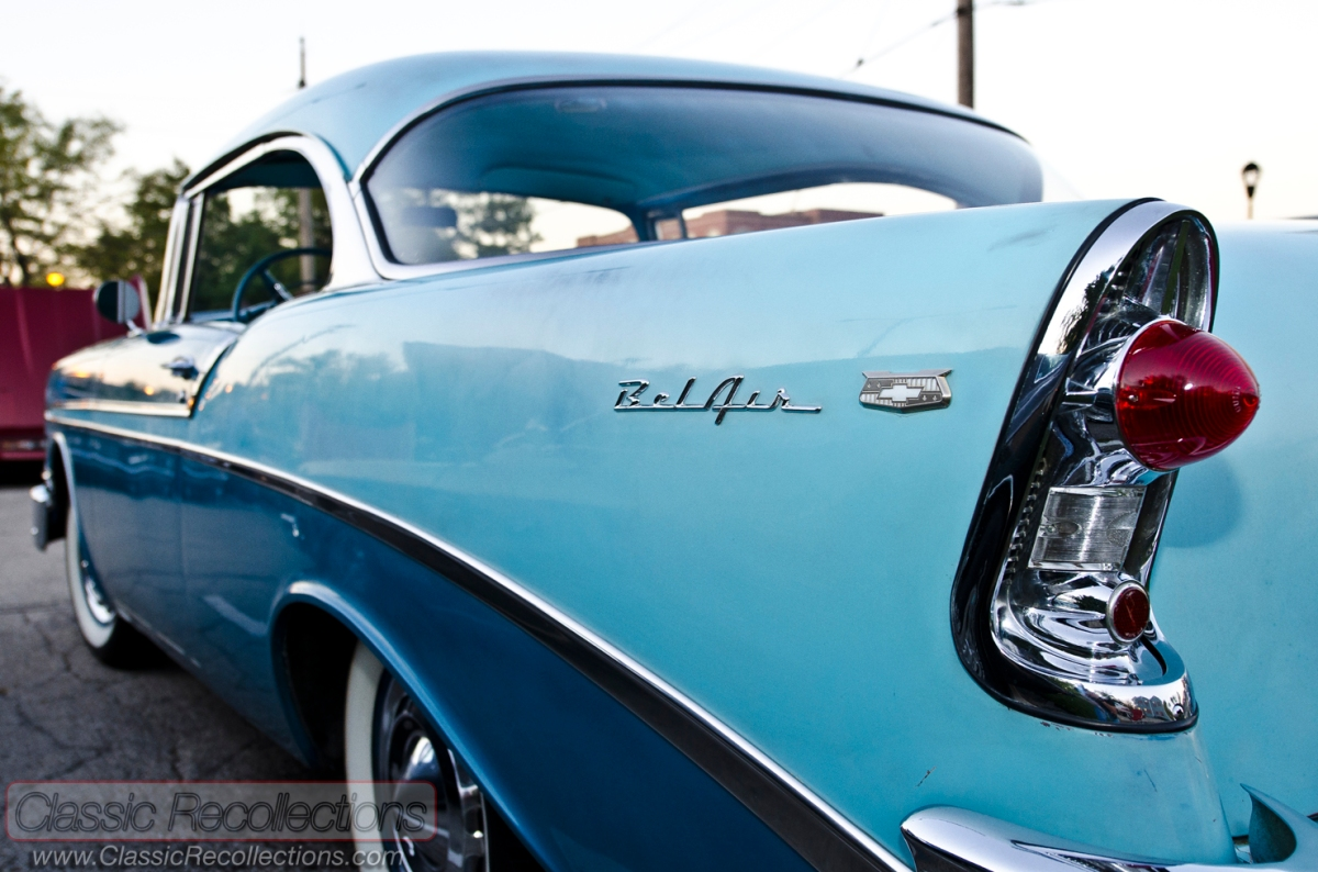 ON THE ROAD: 1956 Chevrolet Bel Air