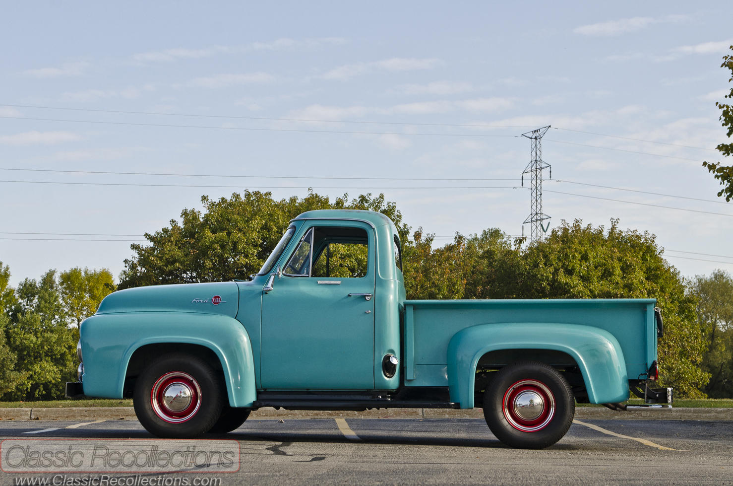 1955 Classic Recollections Ford F100 Value
