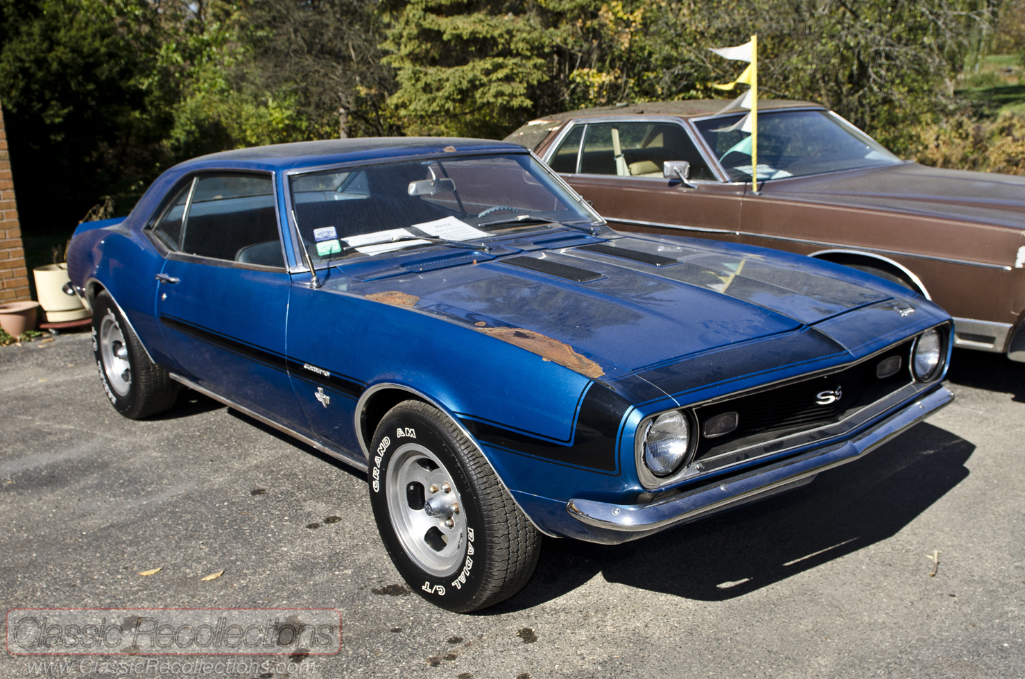 ON THE ROAD: 1968 Chevrolet Camaro  Classic Recollections