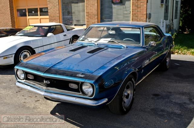 This 1968 Chevrolet Camaro has a 327ci small-block V8.