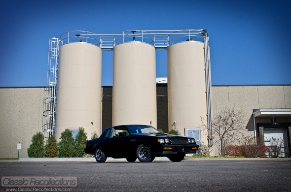 This 1987 Buick Grand National has a 231ci V6.