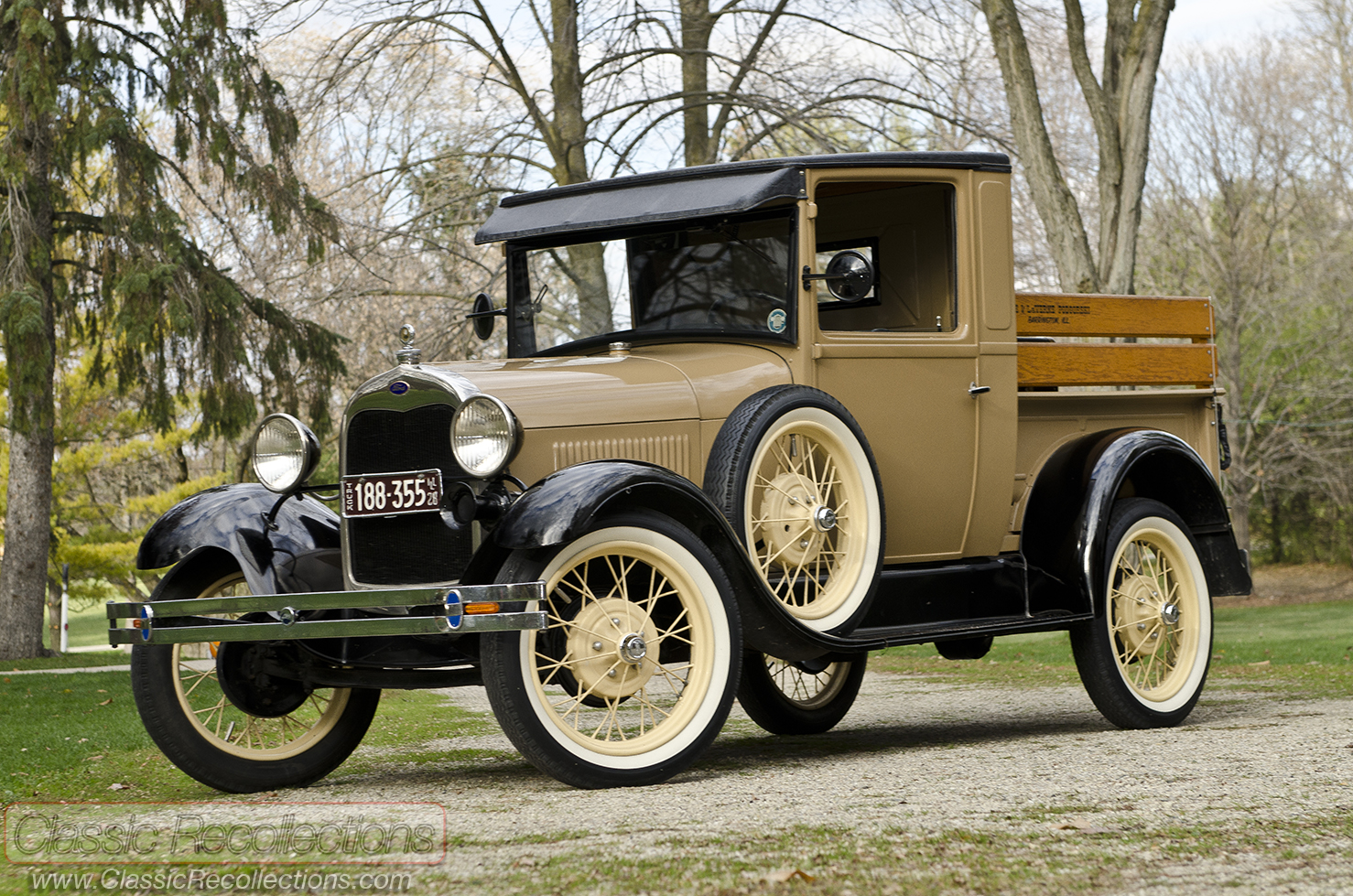 1930 Pickup Truck >> FEATURE: 1928 Ford Model A Pickup & 1930 Ford Model A Town Sedan – Classic Recollections