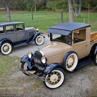 FEATURE: 1928 Ford Model A Pickup & 1930 Ford Model A Town Sedan