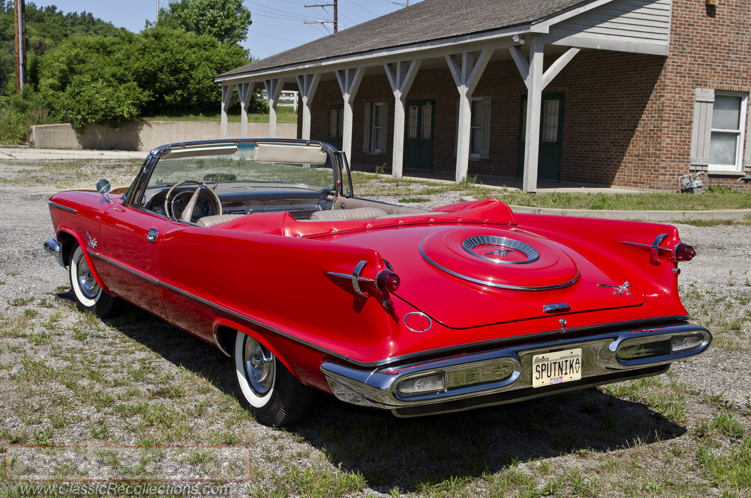 Feature 1958 Chrysler Imperial Crown Convertible