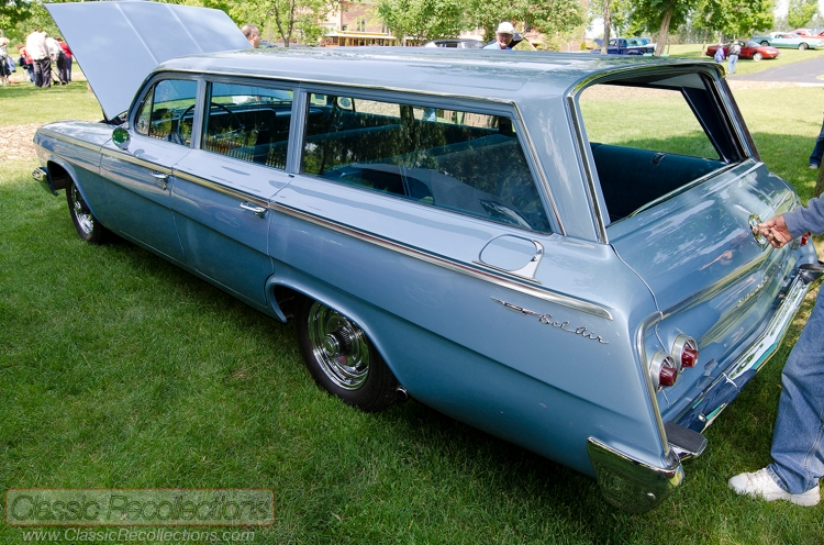 This 1962 Chevrolet Bel Air 9 pasenger wagon was found in Tennessee.