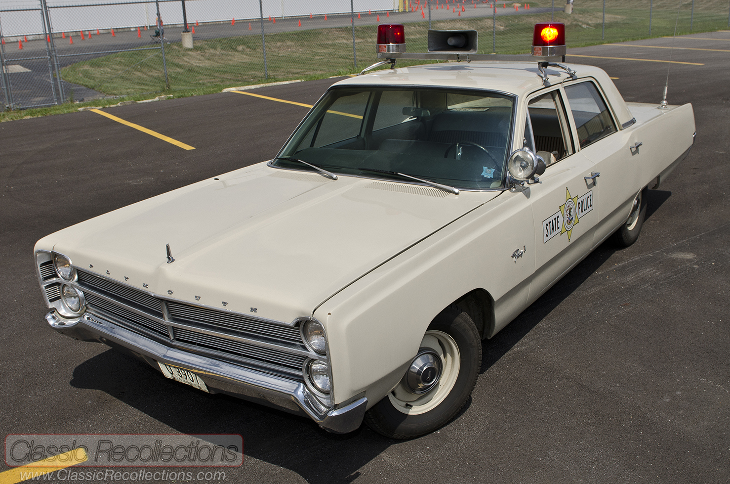 Feature 1967 Plymouth Fury Police Car Classic Recollections 1970 Ford This Was Restored As A