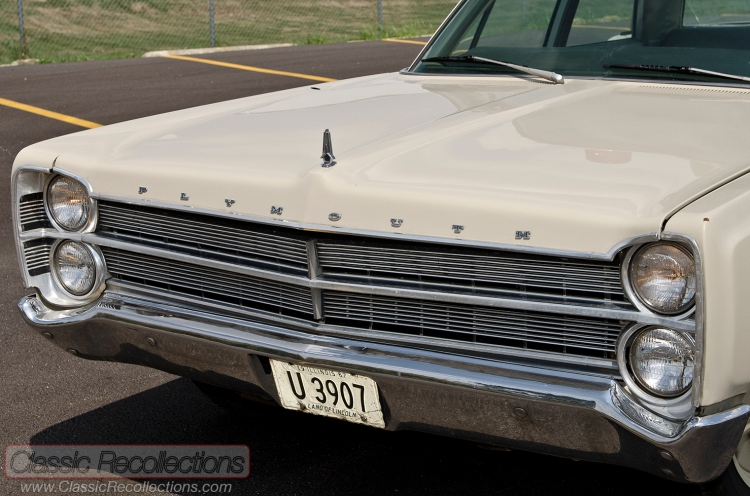 This 1967 Plymouth Fury was restored as a police car.