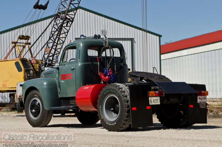 This 1951 Ford F7 Big Job was purchased new for full time use.