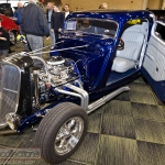 This 1933 Ford 3 window coupe was on dispalay at the 2013 Custom Rides Car Show and Expo in Tinley Park, Illinois.