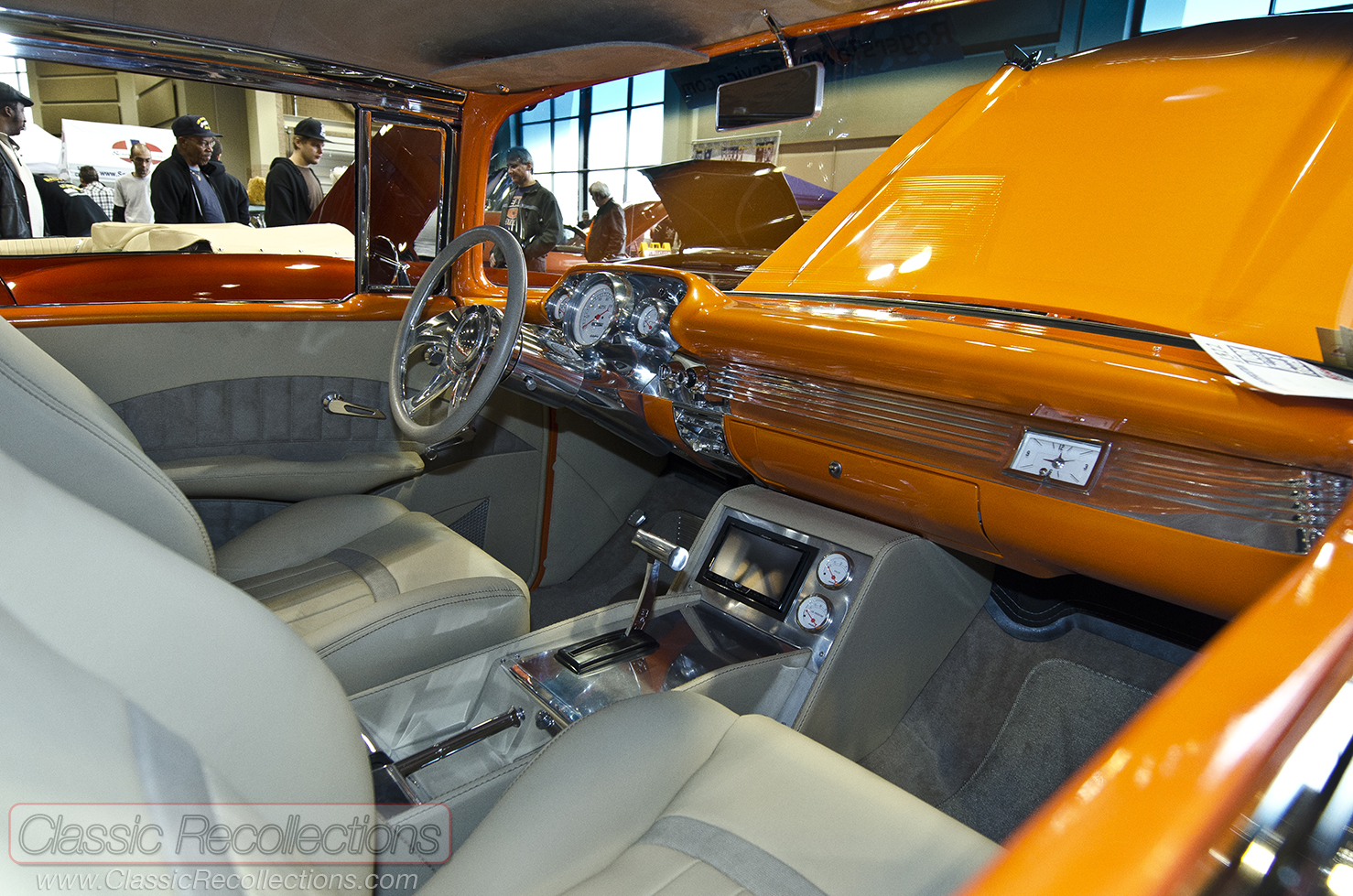Crcse Show 1957 Chevrolet Bel Air Custom Classic Recollections Chevy This Was Displayed At The 2013 Rides Car And