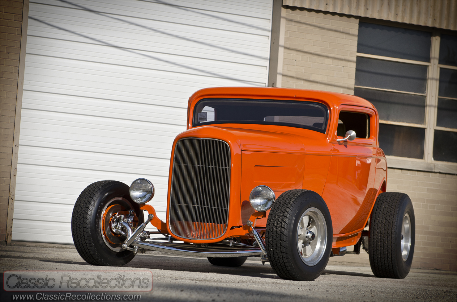Feature 1932 ford 3 window coupe classic recollections for 1932 3 window ford coupe