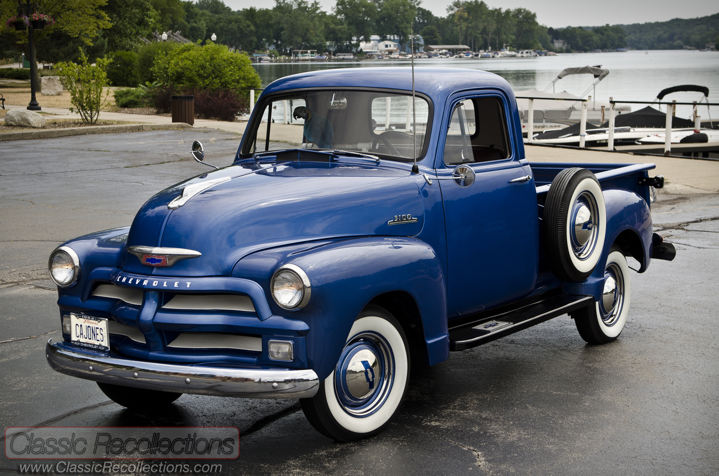 feature 1954 chevrolet 3100 pickup truck classic