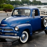 This 1954 Chevrolet 3100 pickup truck was restored to original condition. all original.