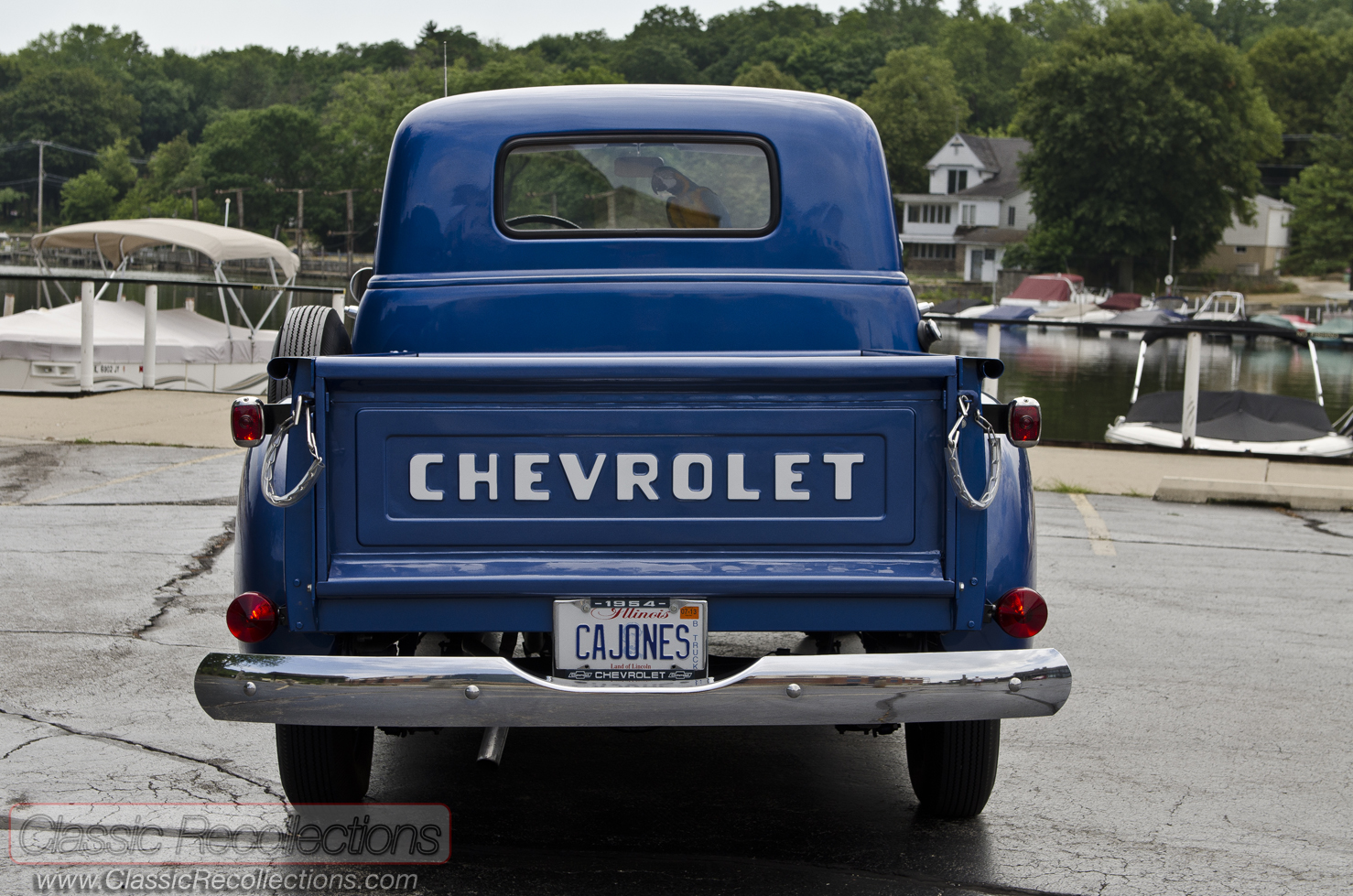 Feature 1954 Chevrolet 3100 Pickup Truck Classic Recollections Dsc 3902 72 3901 3900 3906