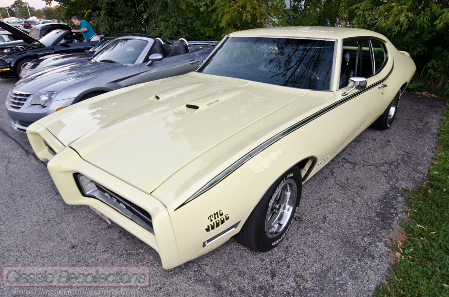 This restored 1969 Pontiac GTO was found at the 2012 downtown Palatine, Illinois cruise night.