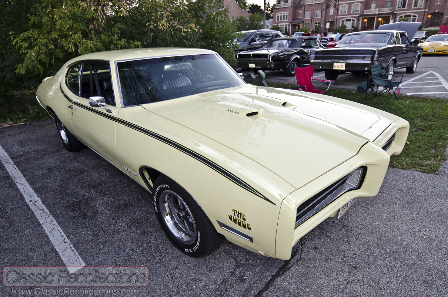 On The Road 1969 Pontiac Gto Judge Classic Recollections