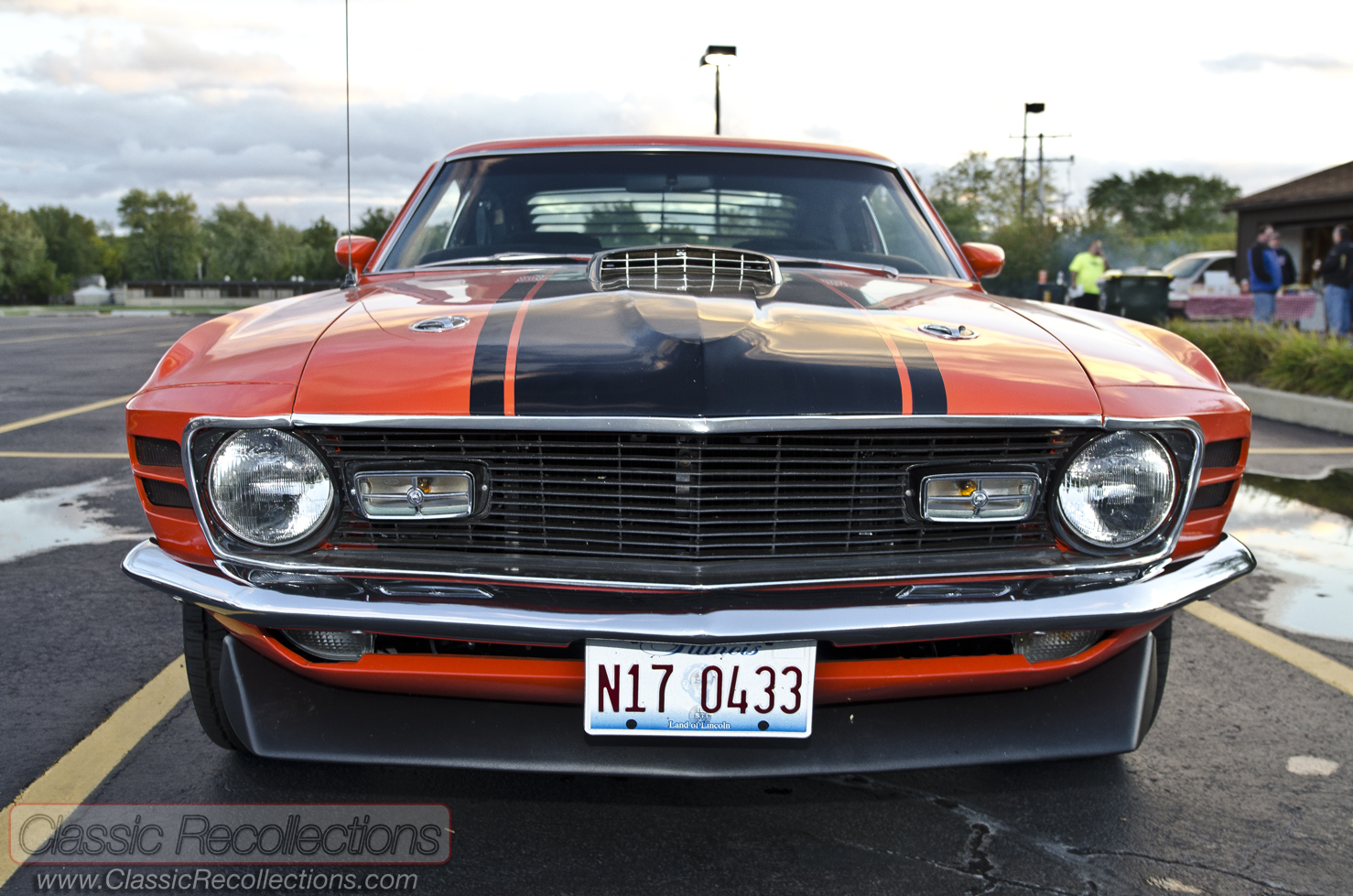 Feature 1970 Ford Mustang Mach 1 Classic Recollections Black This Was Found In A Wisconsin Barn