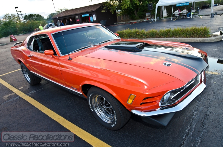 This 1970 Ford Mustang Mach 1 was found in a Wisconsin barn.