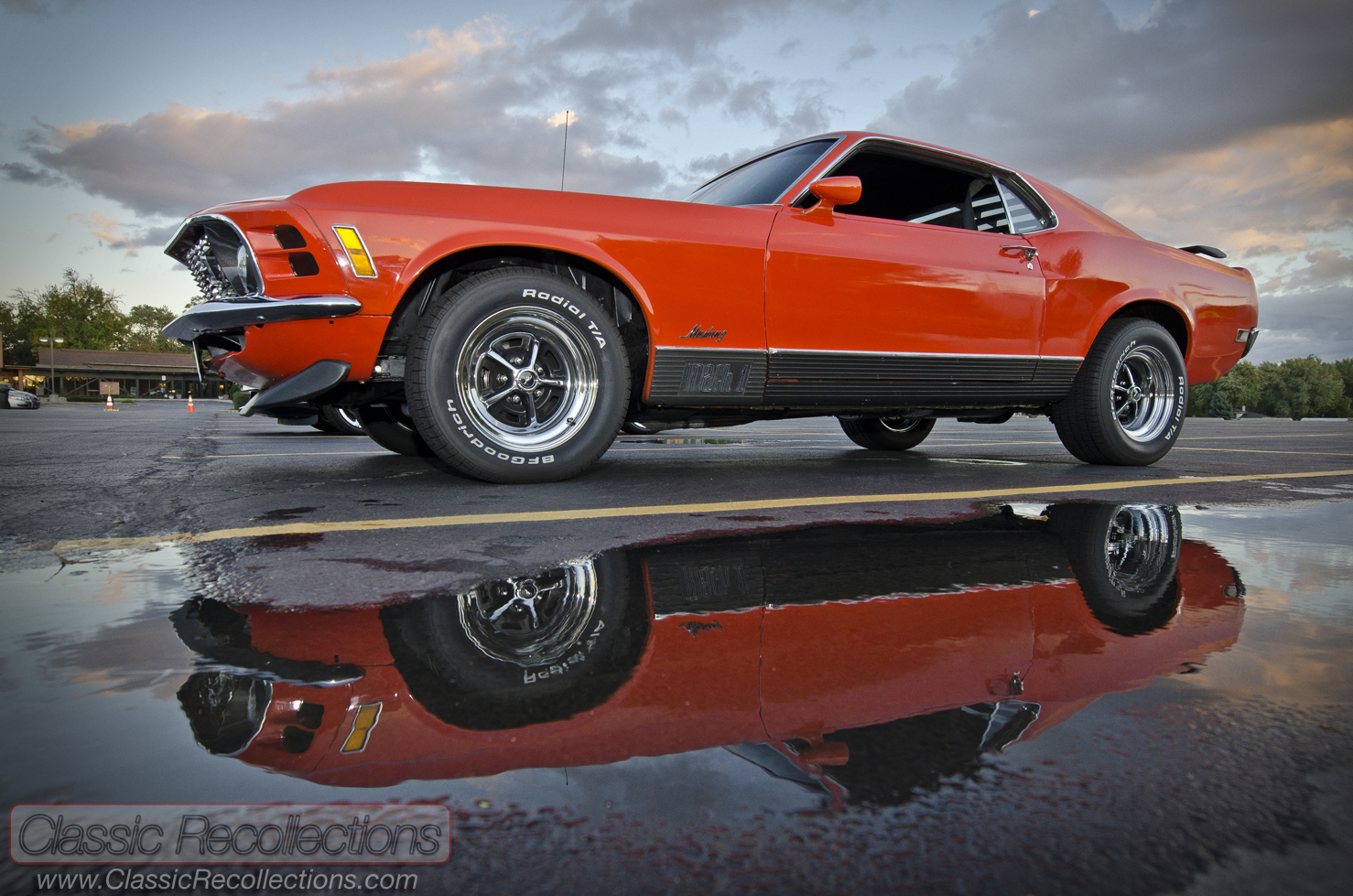Feature 1970 Ford Mustang Mach 1 Classic Recollections