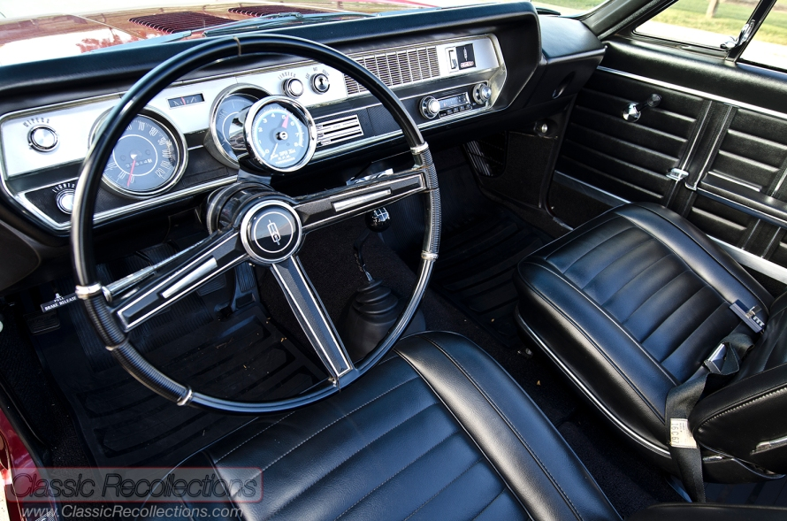 This fully restored 1967 Oldsmobile 442 was purchased in Minnesota.