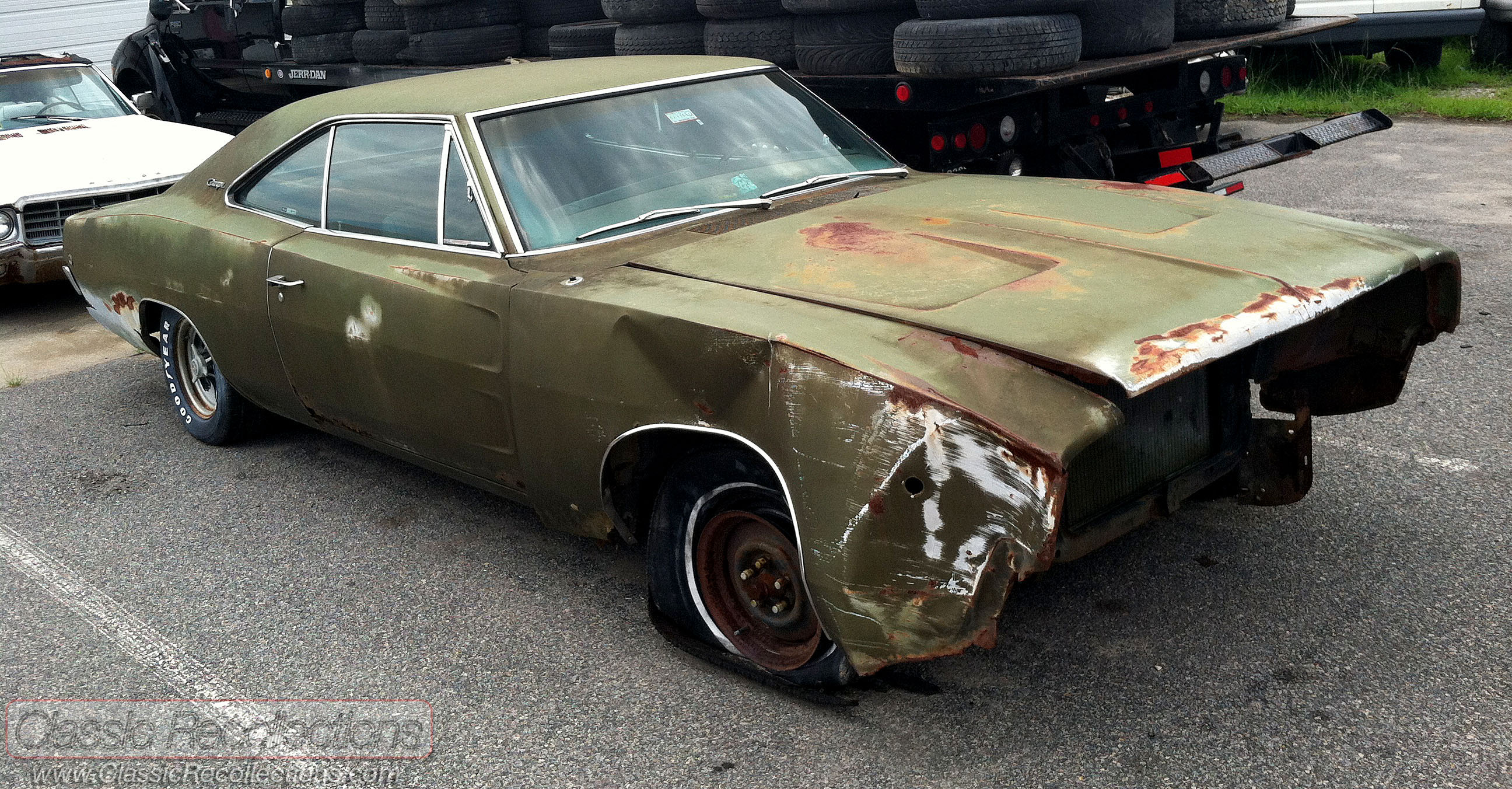 PROJECT CAR: 1968 Dodge Charger – Classic Recollections