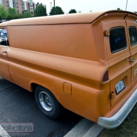 ON THE ROAD: 1960s Chevrolet Panel Truck