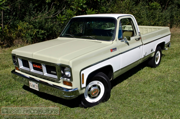 Town And Country Camper >> FEATURE: 1974 GMC Sierra 2500 Camper Special – Classic Recollections