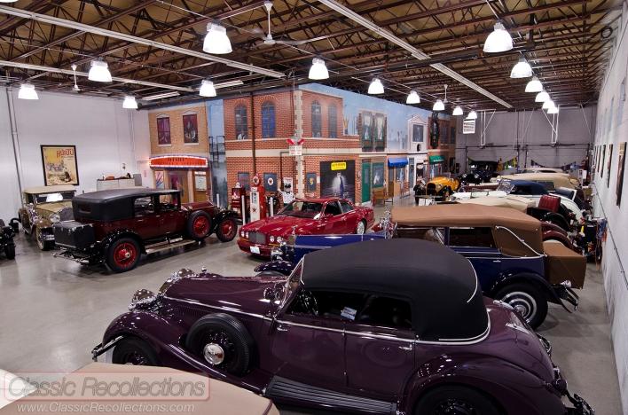 Dream garages mr ed schoenthaler collection classic for Mister auto garage partenaire