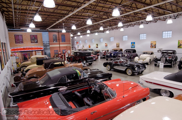 'Mr Ed' Schoenthaler of Brigance Chevrolet of Oak Park, Illinois and muscle car fame has a collection of classic vehicles.