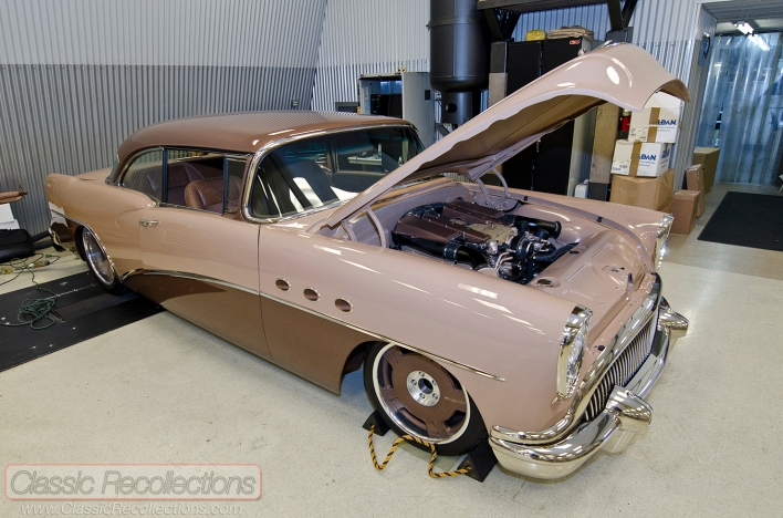 This 1954 Buick 'G54' was build by Troy Trepanier for SEMA 2011.