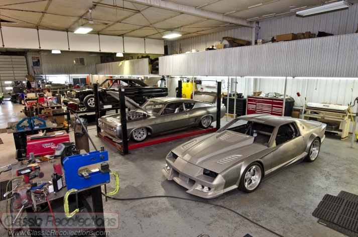 Rad Rides by Troy, Troy Trepanier's shop in Illinois.