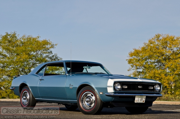 This 1968 Chevrolet Camaro SS was found on the East Coast.