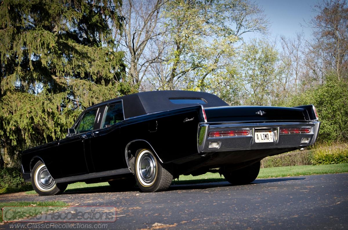 FEATURE: Lehmann-Peterson Coachbuilders 1967 Lincoln Continental Limousine