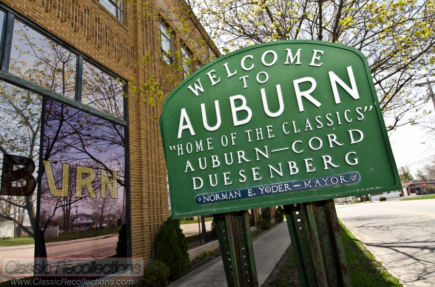 The Auburn Cord Duesenberg Automobile Musuem is in Auburn, Indiana.