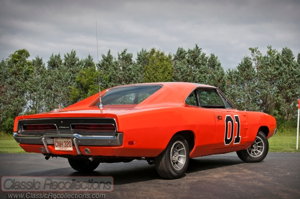 This 1969 Dodge Charger General Lee is from the Dukes of Hazzard TV show. It is displayed at Volo Auto Musuem in Volo, IL.