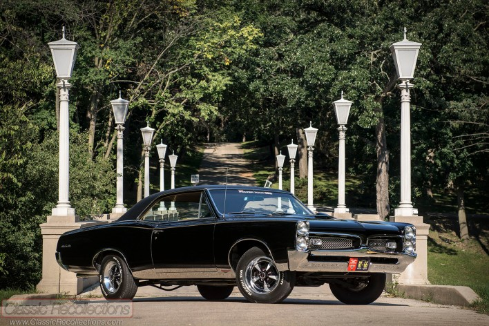 This restored 1967 Pontiac GTO has been on several Hot Rod Powertours.