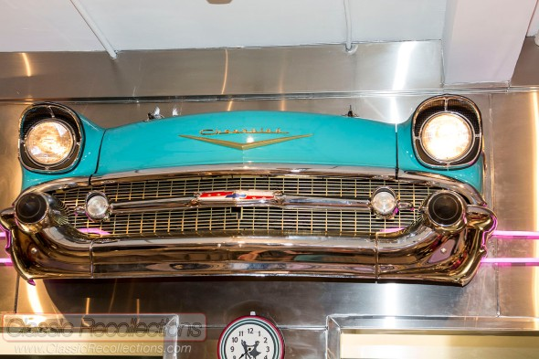 Circa 57 is a retro 1950s themed diner that is located in Arlington Heights, Illinois.