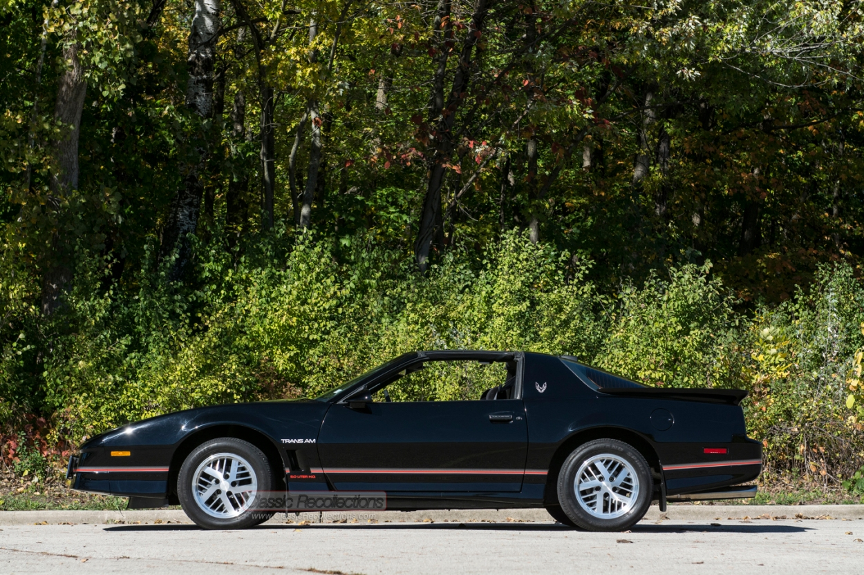 This 1986 Pontiac Firebird wasa restored.